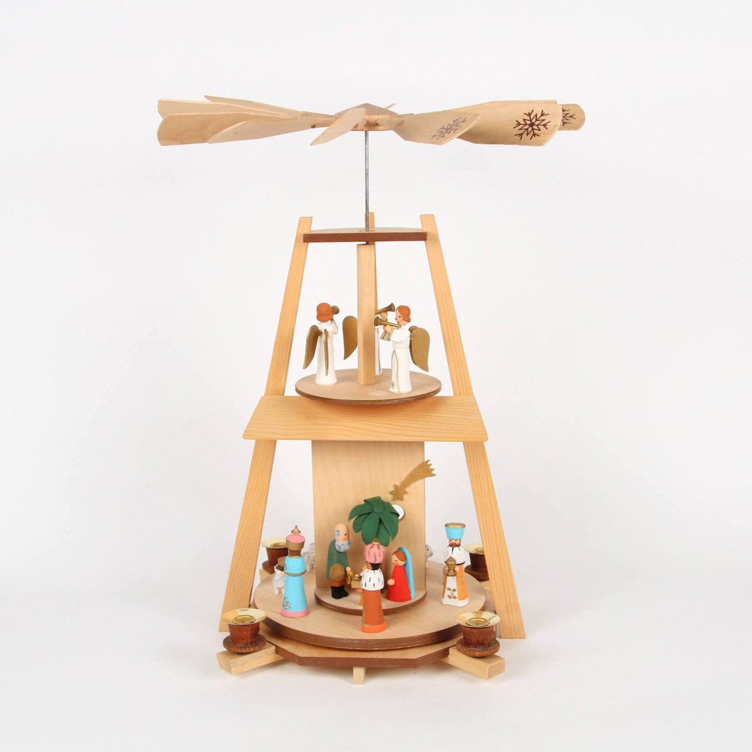 Curated image with Christmas pyramid from laovejitanegrita, $167.16