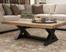 Shop Wesling Coffee Table, Light Brown and more