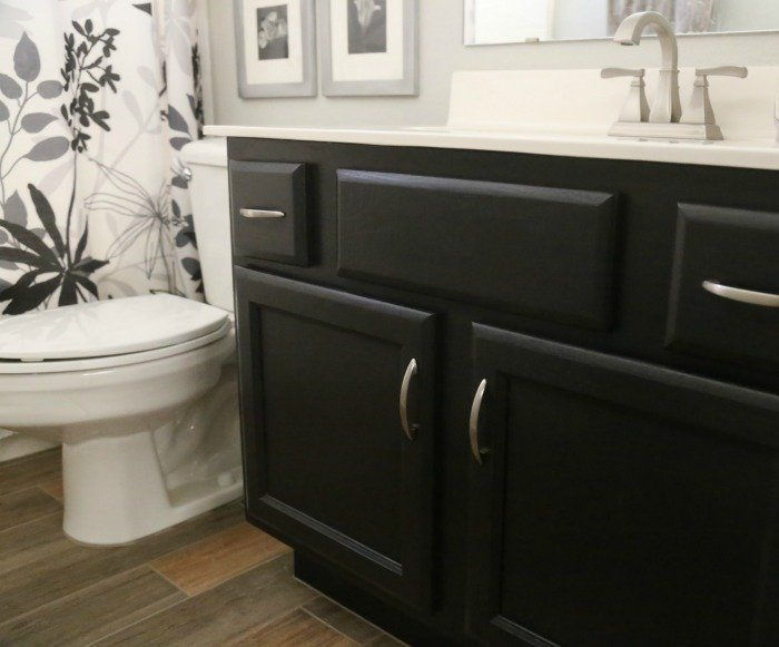 Bathroom Vanity Makeover Easy Diy, What Is The Best Sherwin Williams Paint For Bathroom Cabinets