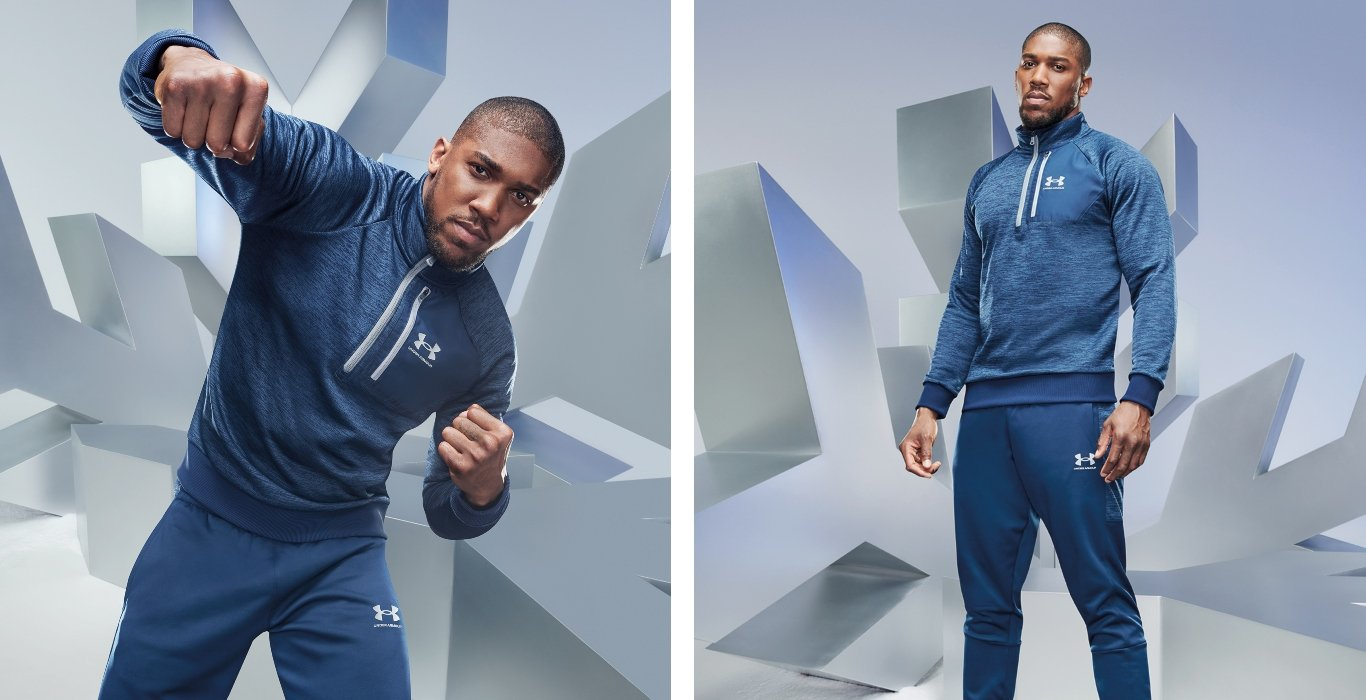 Anthony Joshua con Under Armour