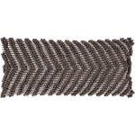 Audra Bohemian Textured 32x14-inch Lumbar Throw Pillow Cover (Brown)