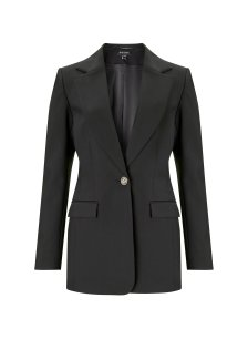Shop Phoebe Blazer Caviar Black and more