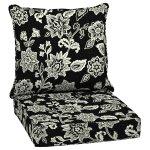 Arden Selections Ashland Jacobean Outdoor Deep Seat Cushion Set - 24 W x 24 D in.