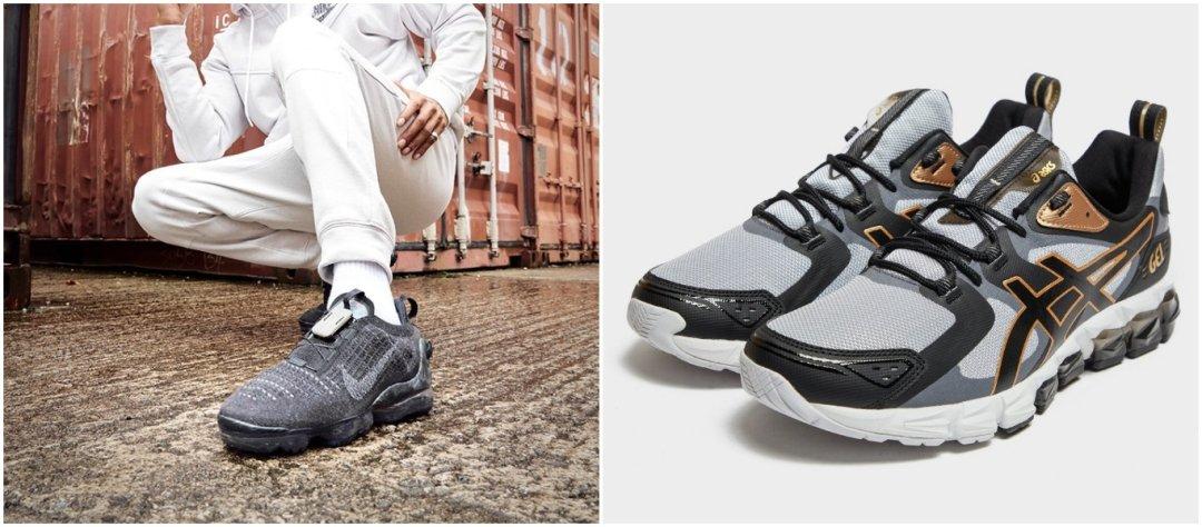 sporttiset sneakerit ovat muodissa