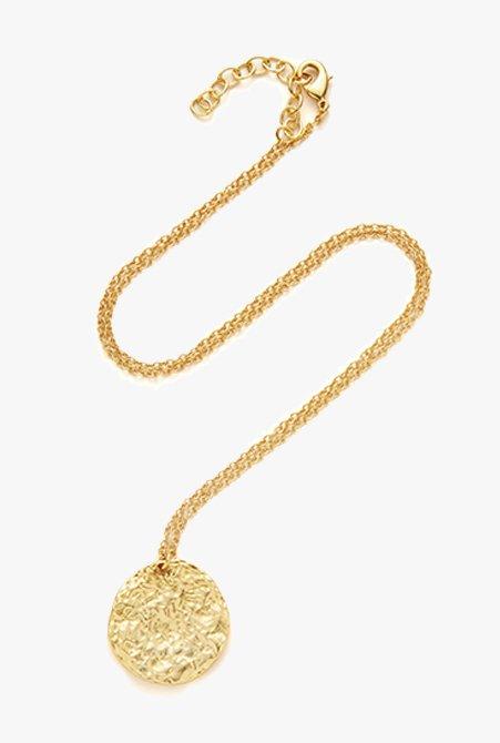Shop Fleur Necklace Gold and more
