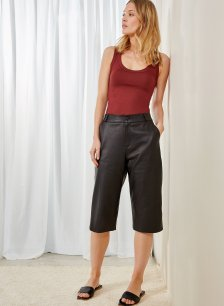 Shop Sacha Culottes Caviar Black and more