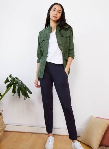 Shop Neath Pant with LENZING™ ECOVERO™ Classic Navy and more