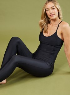 Shop The Active Econyl® Tank Caviar Black and more