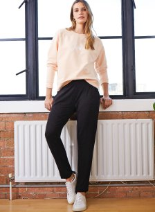 Shop Neath Pant with LENZING™ ECOVERO™ Caviar Black and more