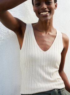 Shop Denny Knitted Top with LENZING™ ECOVERO™ Barley and more