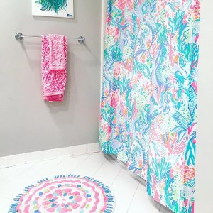 Lilly Pulitzer Kids Bath Mat Pottery, Lilly Pulitzer Bathroom