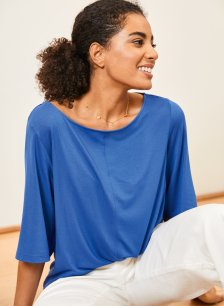 Shop Ginny Top Ocean Blue and more