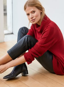 Shop Amelia Jumper Ruby Red and more