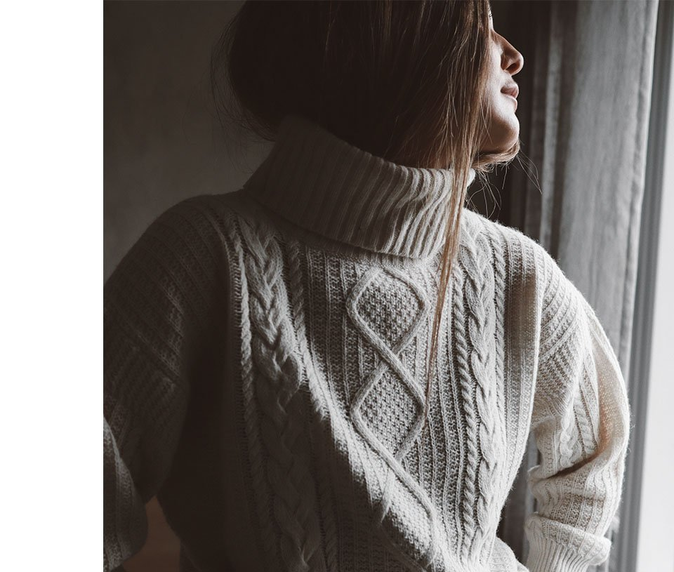Shop Carrie Recycled Wool Jumper Cream and more