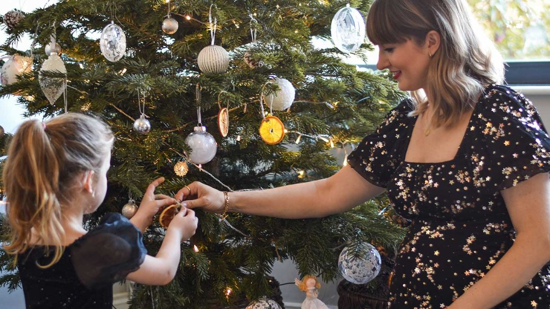 Christmas Crafts with The Kids: Marlenka & Flo