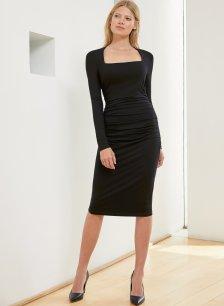 Shop Roberta Dress Caviar Black and more