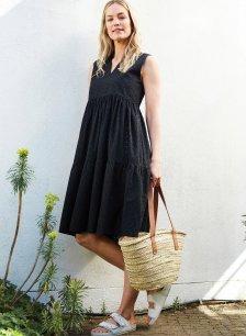Shop Orson Dress Caviar Black and more