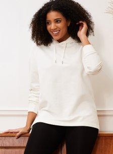 Shop Dakota Organic Hoodie Soft White and more