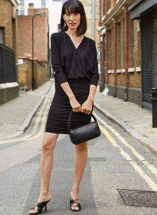 Shop Charlie Ecovero™ Dress Caviar Black and more