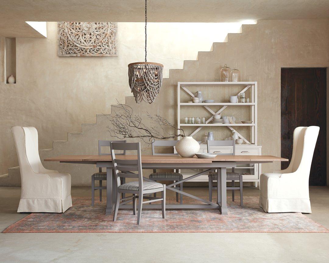 Tavola Refectory Dining Table Arhaus