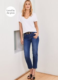 Shop The Boyfriend Jean Washed Indigo and more