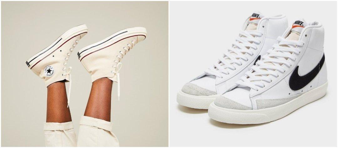 sneakertrendit 2021 korkeavartiset sneakerit