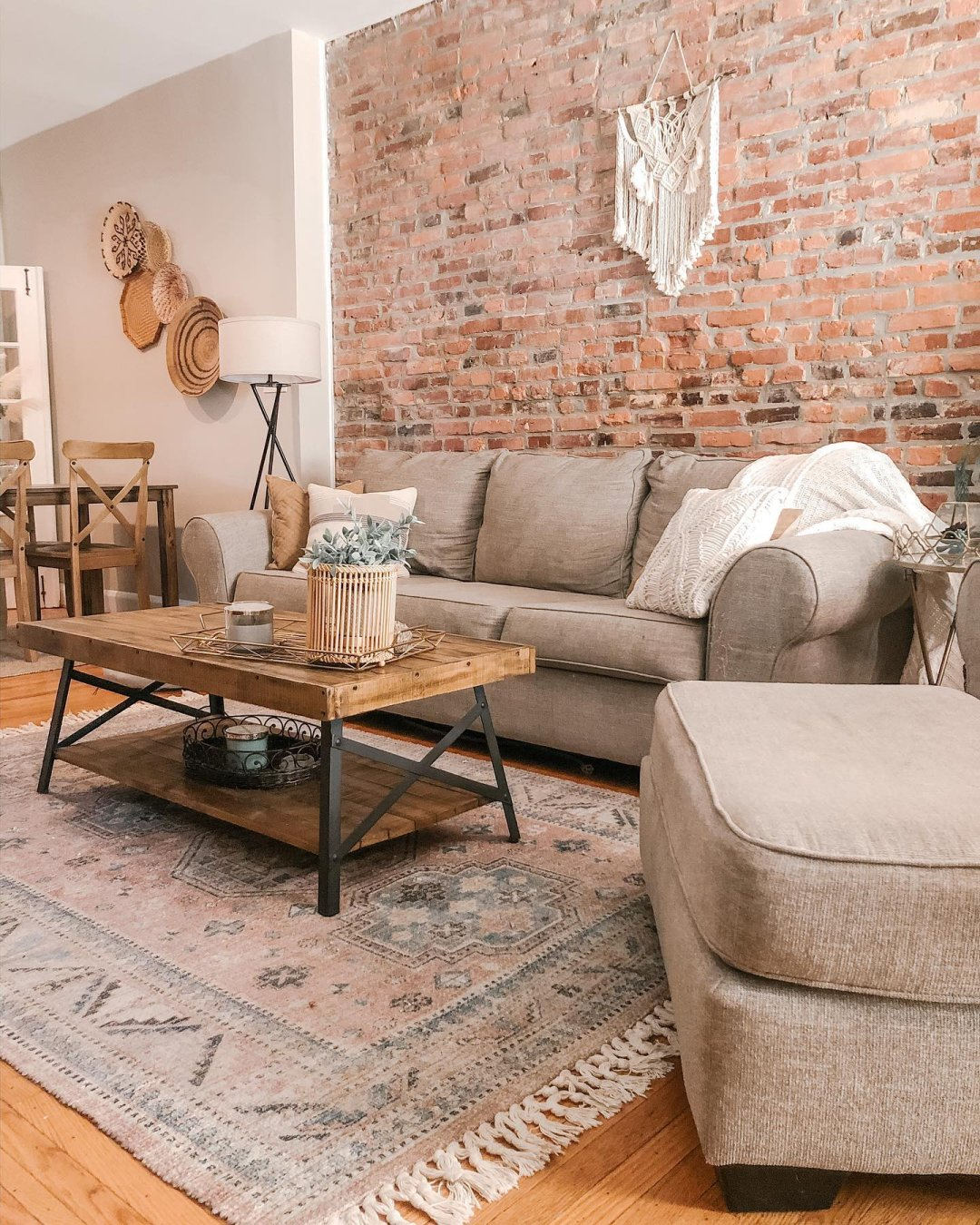 Curated image with Belcampo Sofa, Jute, Belcampo Ottoman, Jute