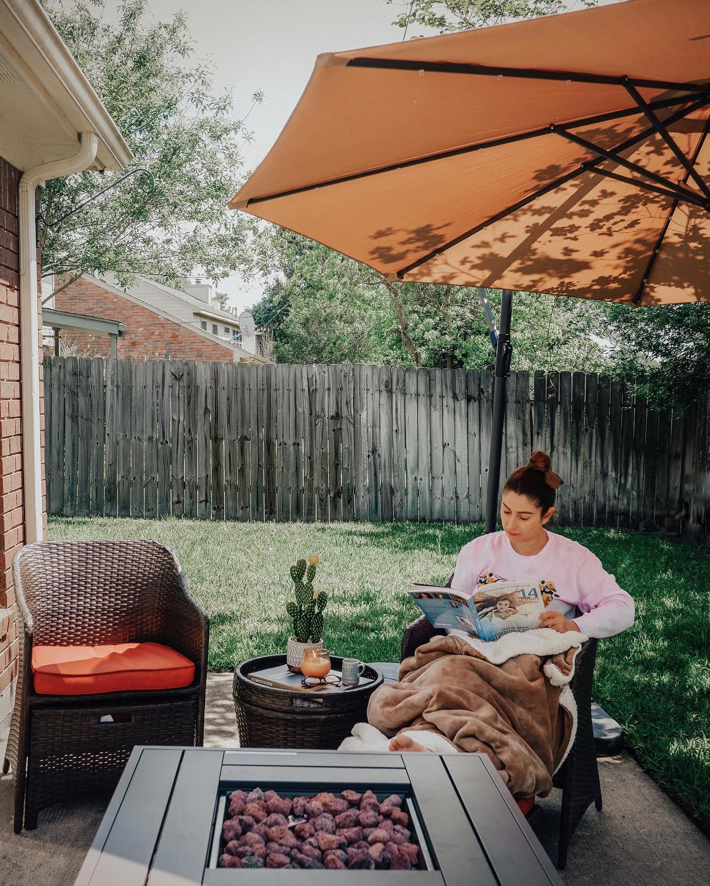 Calm outdoor living Instagram Post