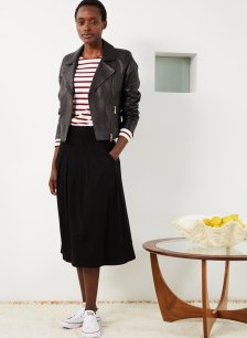Shop Andie Ecovero™ Skirt Caviar Black and more