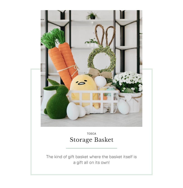 Tosca storage baskets