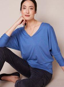 Shop Ella Top Dutch Blue and more