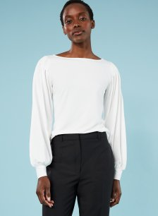 Shop Estelle Ecovero™ Top Soft White and more
