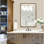 Carson Carrington Ingarsbo Metal Beveled Venetian Wall Mirror (Gold)