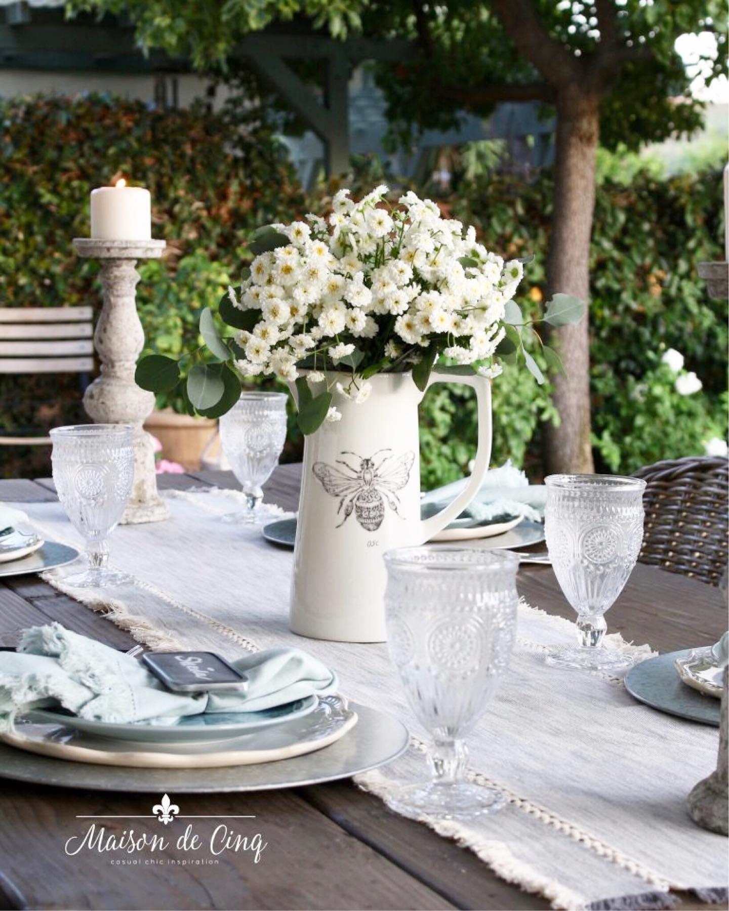 Charming farmhouse picnic Instagram Post