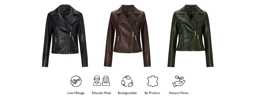 Shop Everyday Leather Biker Jacket Dark Khaki, Everyday Leather Biker Jacket Dark Chocolate Brown, Everyday Leather Biker Jacket and more