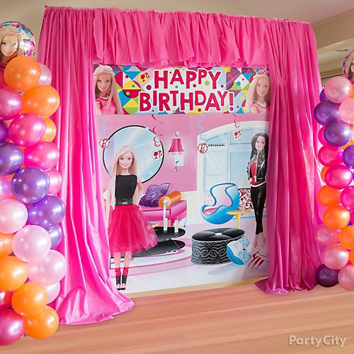 Curated image with Barbie Balloon, Bright Pink Balloons 72ct, 12in, Magenta Curling Ribbon, Brigh...