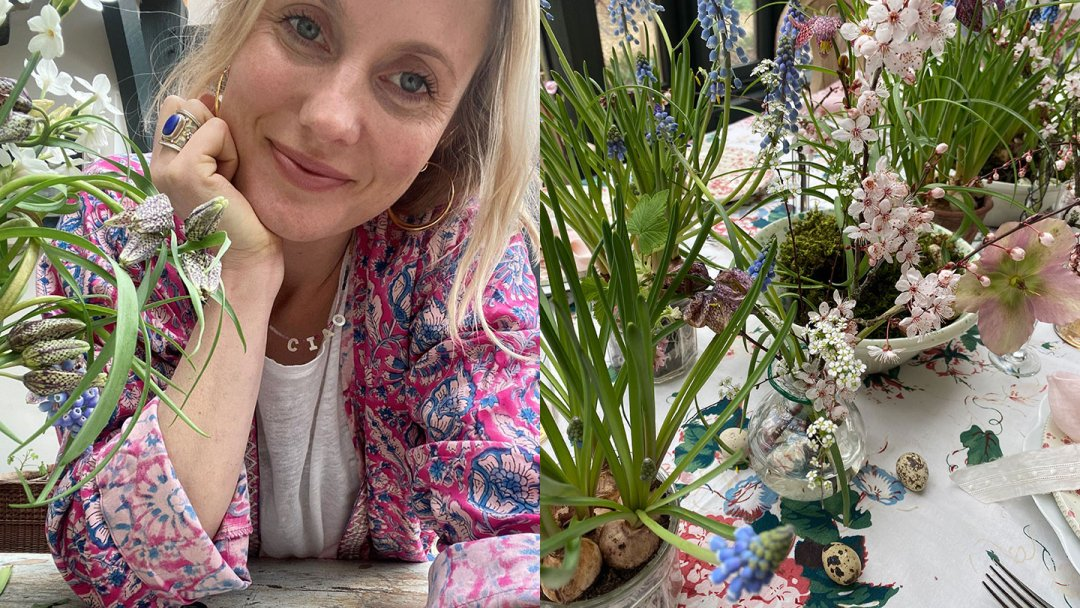Easter At Home with Monsoon: Spring Blooms with Willow Crossley