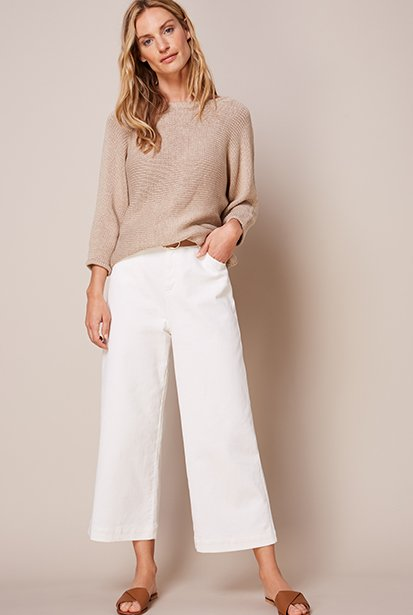 Shop Ruth Jumper Almond, Gail Jean Off White and more