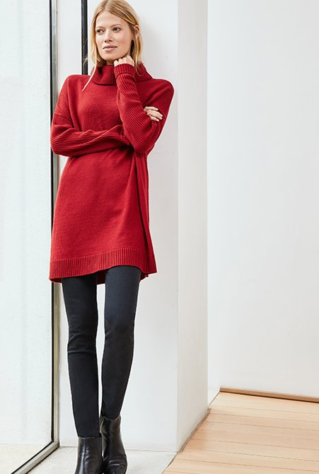 Shop Wren Skinny Jean, Amelia Jumper Ruby Red and more