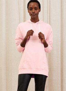 Shop Brooklyn Organic Hoodie Chiffon Pink and more