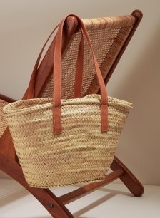Shop Cora Straw Bag Natural and more
