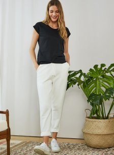 Shop Brooklyn Organic Jogger Soft White and more