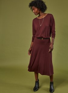 Shop Hailey Ecovero™ Dress Redwood and more