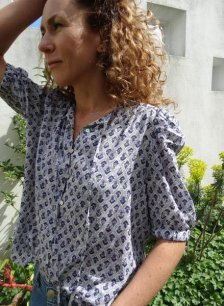 Shop Aphrodite Blouse with LENZING™ ECOVERO™ and more