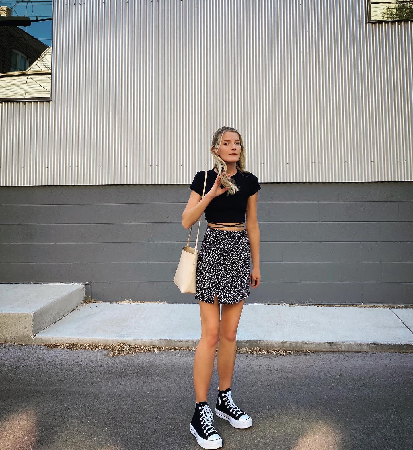 Canvas Platform Chuck Taylor All Star Women's High Top Shoe ...