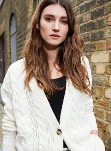 Shop Clara Ecotec® Cardigan Soft White and more