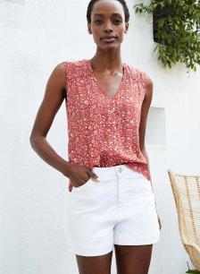 Shop Elina Organic Short Soft White and more