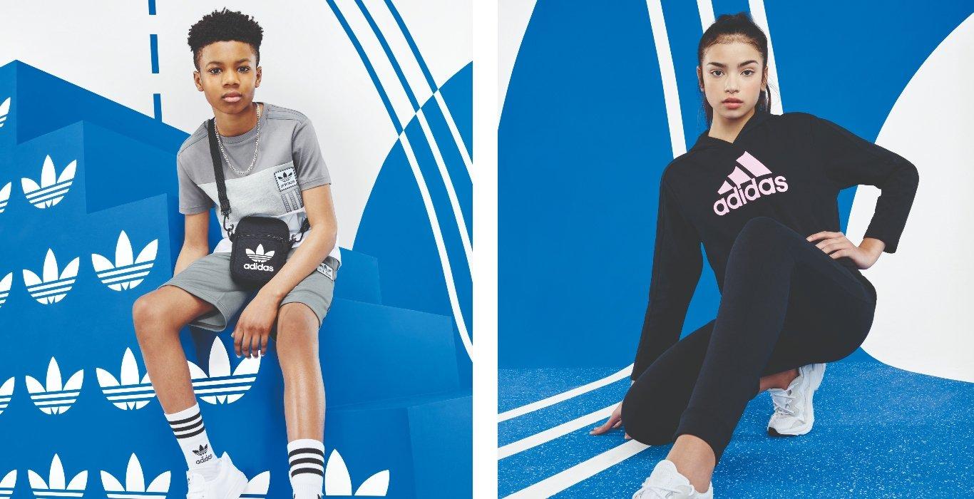 Curated image with adidas Originals ID96 T-Shirt Junior - Grey - Kids, adidas Originals ID96 Shor...
