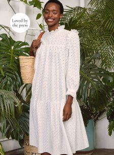 Shop Zadie Dress Pure White and more