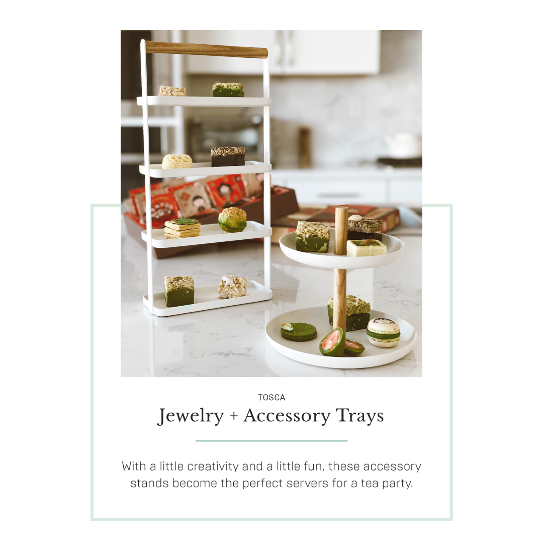 Jewelry and accessory trays